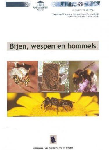 Bijen Wespen En Hommels Voorkaft