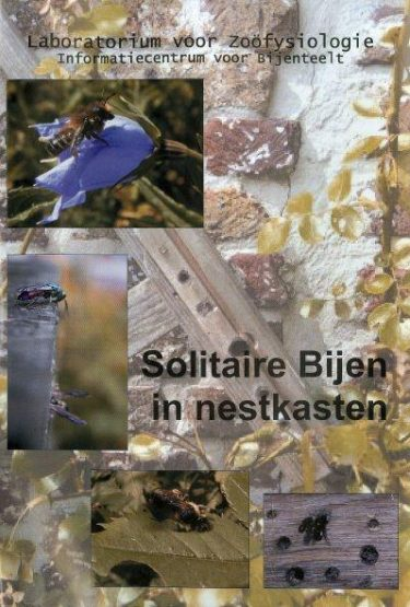 Solitaire Bijen In Nestkasten Voorkaft
