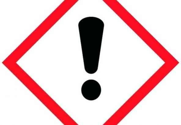 Gevarensymbool Irriterend/schadelijk