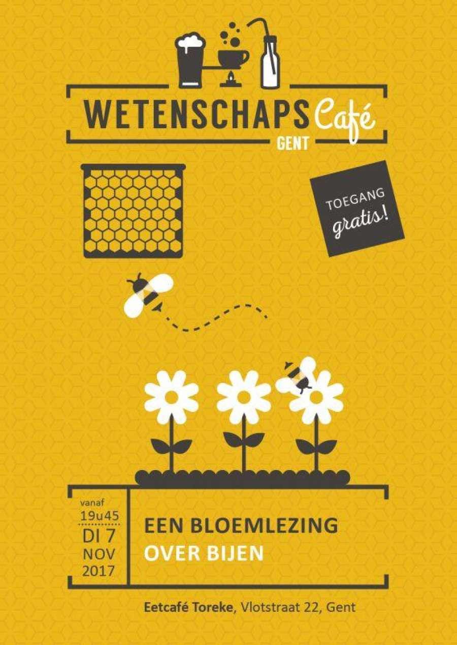 17 Wetenschapscafe E Flyer Bijen Gent