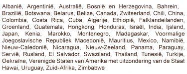 Derde Landen Die Voldoen Aan De Veterinairrechtelijke Basisvoorwaarden